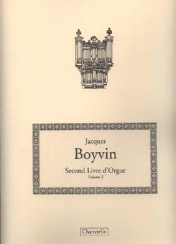Jacques Boyvin - Second Livre D'orgue Vol 2 - Partition - di-arezzo.fr