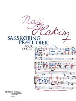 Naji Hakim - Sakskobing Praeludier - Partition - di-arezzo.fr