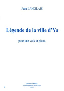 Jean Langlais - Legend of The City of Ys Op. 55b. - Sheet Music - di-arezzo.co.uk
