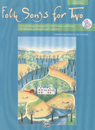 Folksongs For 2 - Partition - Duos - laflutedepan.com