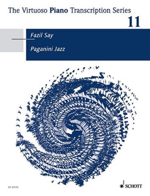 Paganini Jazz Fazil Say Partition Piano - laflutedepan
