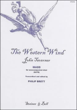The Western Wind - John Taverner - Partition - laflutedepan.com