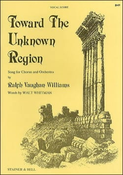 Toward The Unknown Region WILLIAMS VAUGHAN Partition laflutedepan