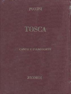 Giacomo Puccini - Tosca. Relié - Partition - di-arezzo.fr