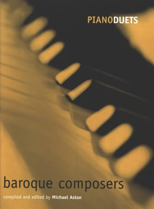 Baroque Composers. 4 Mains Partition Piano - laflutedepan