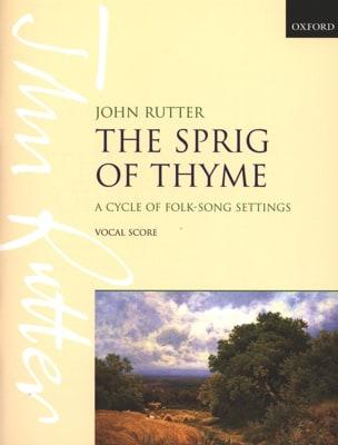 The Spring Of Thyme - RUTTER - Partition - Chœur - laflutedepan.com