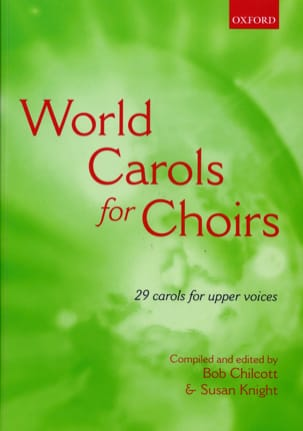 World Carols For Choirs SSA Partition Chœur - laflutedepan