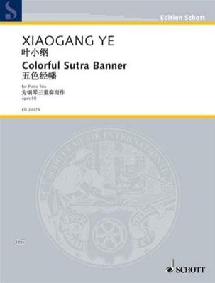 Ye Xiaogang - Namucuo Op. 53 - Partition - di-arezzo.fr