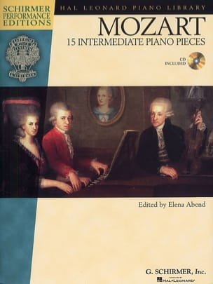 15 Intermediate Piano Pieces - MOZART - Partition - laflutedepan.com
