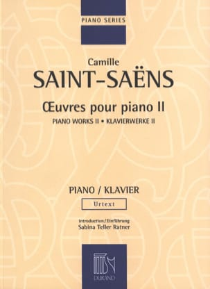 Camille Saint-Saëns - Piano Works Volume 2 - Sheet Music - di-arezzo.co.uk