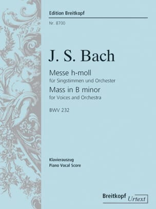 BACH - Mass in SI - BWV 232 - Sheet Music - di-arezzo.com