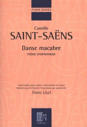 Saint-Saëns Camille / Liszt Franz - Danse Macabre - Partition - di-arezzo.fr