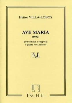 Ave Maria 1932 VILLA-LOBOS Partition Chœur - laflutedepan