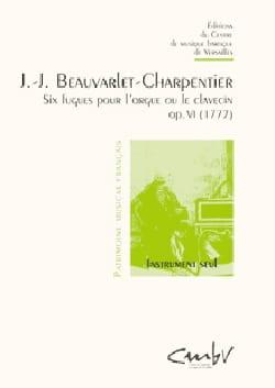 6 Fugues pour orgue op. 6 laflutedepan