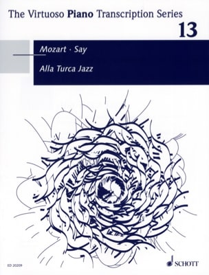 Alla Turca Jazz MOZART / SAY Partition Piano - laflutedepan