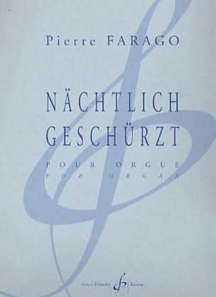 Pierre Farago - Nächtlich Geschürzt - Partition - di-arezzo.fr