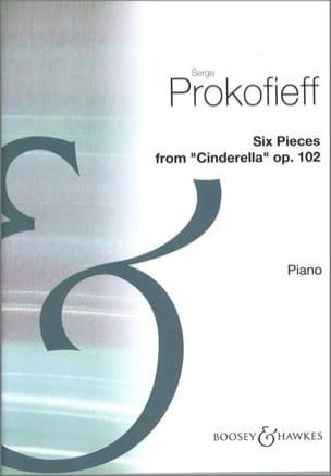 Sergei Prokofiev - 6 Pièces de Cendrillon Opus 102 - Partition - di-arezzo.fr