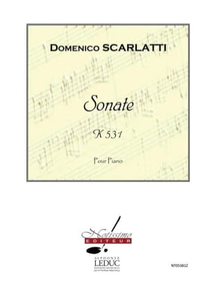 Sonate K531 - Alessandro Scarlatti - Partition - laflutedepan.com