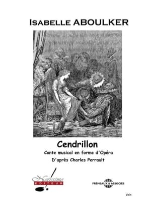 Isabelle Aboulker - Cendrillon. Chant seul - Livre - di-arezzo.fr
