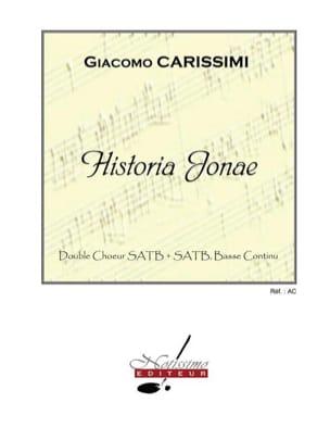 Giacomo Carissimi - Historia Jonae - Partition - di-arezzo.fr