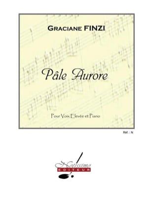 Pâle Aurore Graciane Finzi Partition Mélodies - laflutedepan