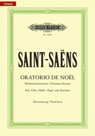 Camille Saint-Saëns - Christmas Oratorio - Sheet Music - di-arezzo.co.uk