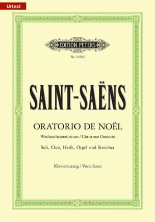 Oratorio de Noël SAINT-SAËNS Partition Chœur - laflutedepan