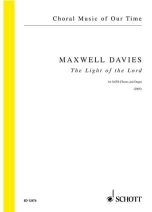 The Light Of Lord - Davies Peter (Sir) Maxwell - laflutedepan.com