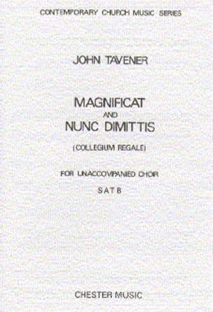 John Tavener - Magnificat Und Nunc Dimitis - Partition - di-arezzo.fr