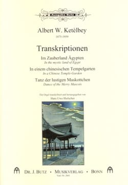 Albert Ketelbey - 3 Transcriptions - Partition - di-arezzo.fr