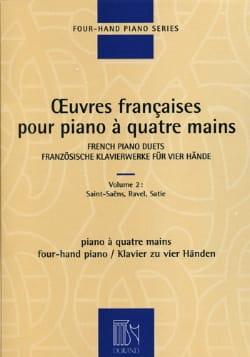 Oeuvres Françaises pour piano 4 Mains. Volume 2 laflutedepan