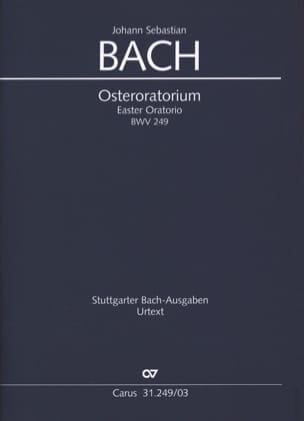 Jean-Sébastien Bach - Osteroratorium BWV 249 - Partition - di-arezzo.fr