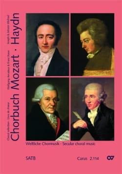 Chorbuch Volume 4. Choeur Mixte - MOZART / HAYDN - laflutedepan.com