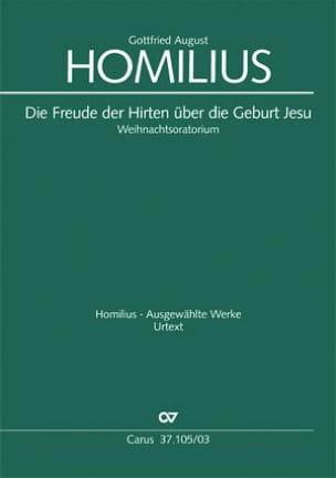 Weihnachtsoratorium Howv 1-1. Gottfried August Homilius laflutedepan