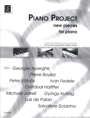 Piano Project - Sheet Music - di-arezzo.co.uk
