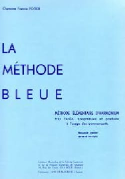Méthode Bleue Francis Potier Partition Orgue - laflutedepan