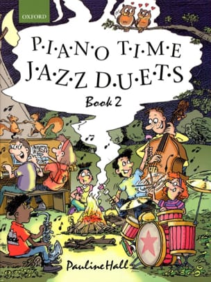 Piano Time Jazz Duets Volume 2. 4 mains Partition laflutedepan