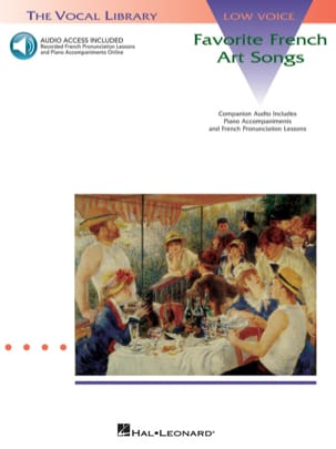 - Favorite French Art Songs. Deep voice - Sheet Music - di-arezzo.co.uk