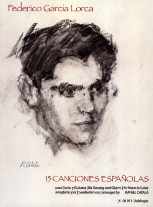 Lorca Federico Garcia - 15 Canciones Españolas - Sheet Music - di-arezzo.co.uk