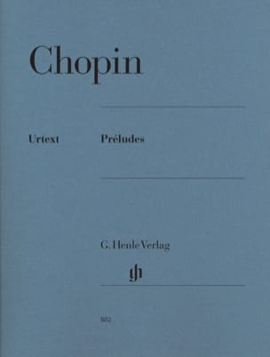 CHOPIN - preludes - Sheet Music - di-arezzo.co.uk