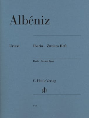 Isaac Albeniz - Iberia - Second notebook - Sheet Music - di-arezzo.com