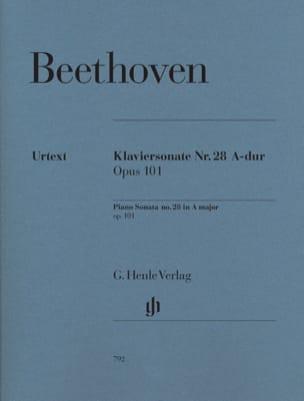 BEETHOVEN - Sonata para piano n.º 28 en el gran Opus 101 - Partition - di-arezzo.es