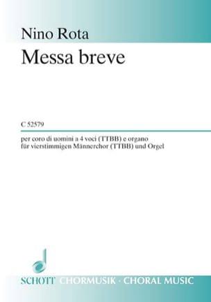 Messa Breve - Nino Rota - Partition - Chœur - laflutedepan.com