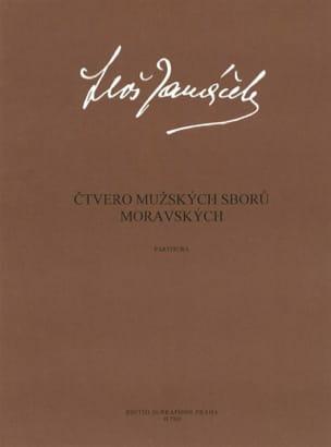 4 Muzskych Sboru Moravskych - Leos Janacek - laflutedepan.com