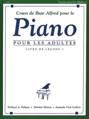Cours de Piano Adultes Volume 2 ALFRED Partition Piano - laflutedepan