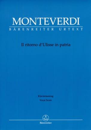 Claudio Monteverdi - PatriaのIl Ritorno D'ulisse - 楽譜 - di-arezzo.jp
