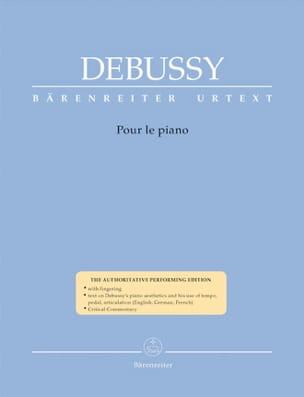 Pour le Piano DEBUSSY Partition Piano - laflutedepan