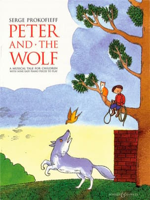 Sergei Prokofiev - Peter and the Simplified Wolf - Sheet Music - di-arezzo.com