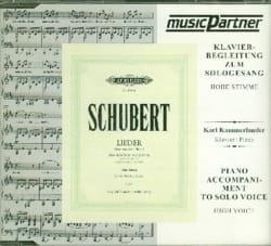 SCHUBERT - Die Schöne Mullerin. High Voice CD - Sheet Music - di-arezzo.com