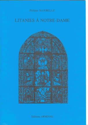 Philippe Majorelle - Litanies At Notre Dame - Sheet Music - di-arezzo.com